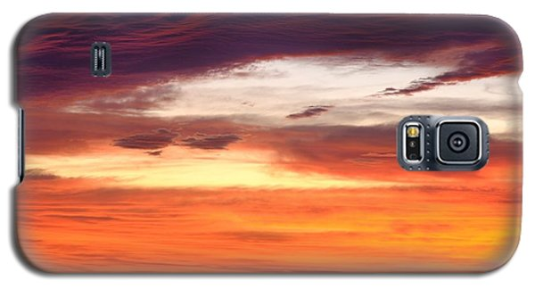 Painterly Sunrise On The Blue Ridge Parkway Galaxy S5 Case
