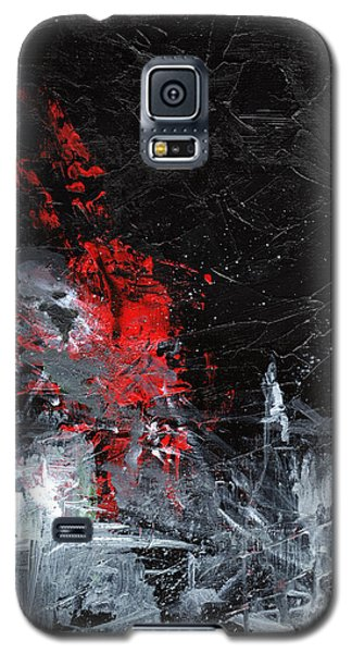 Galaxy S5 Case featuring the painting Painting Death by Sean Seal
