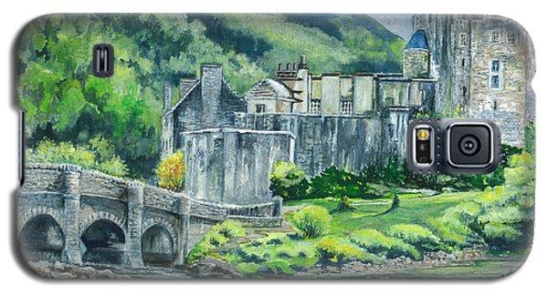 Eilean Donan Medieval Castle Scotland Galaxy S5 Case by Carol Wisniewski