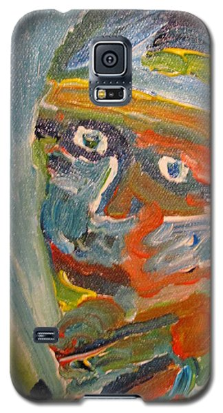 Painting Myself Galaxy S5 Case by Shea Holliman