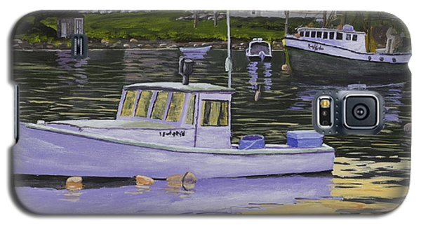 Fishing Boats In Port Clyde Maine Galaxy S5 Case by Keith Webber Jr