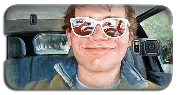Painting Of Sam's Self Portrait Galaxy S5 Case