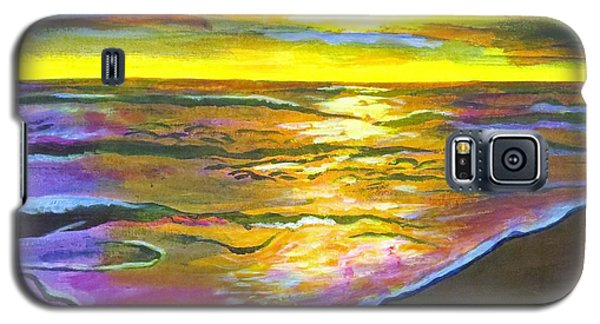 Painting Sanibel Island Beach Galaxy S5 Case