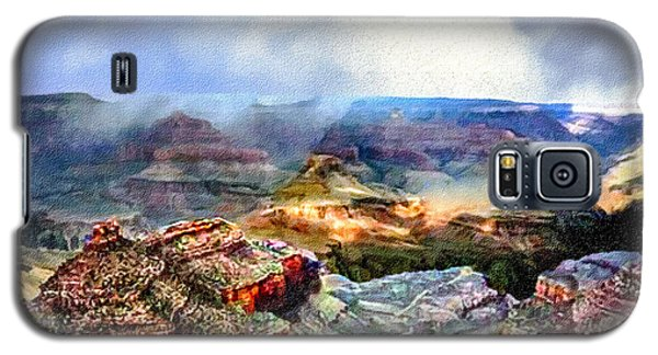 Painting The Grand Canyon Galaxy S5 Case