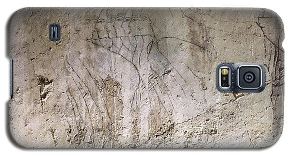 Painting West Wall Tomb Of Ramose T55 - Stock Image - Fine Art Print - Ancient Egypt Galaxy S5 Case