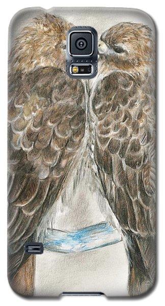 Pair Of Hawks Galaxy S5 Case