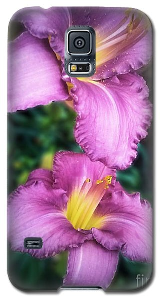 Pair Of Lilies Galaxy S5 Case