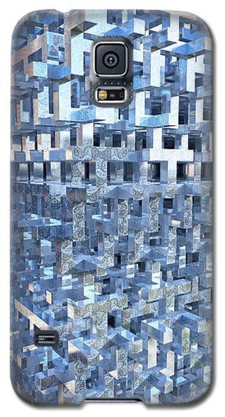 Paisley Block Array Galaxy S5 Case