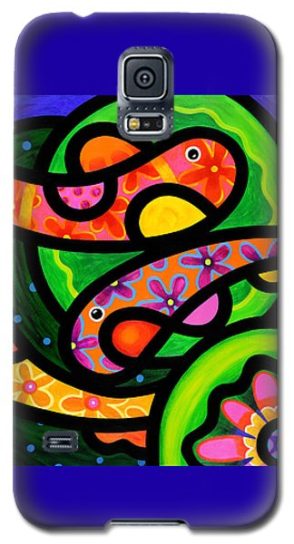 Paisley Pond - Horizontal Galaxy S5 Case
