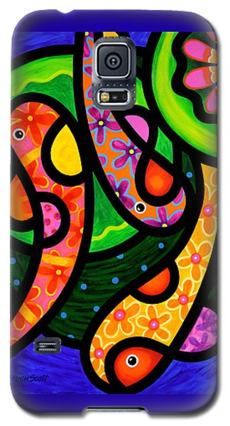 Paisley Pond - Vertical Galaxy S5 Case