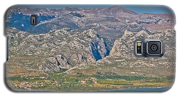 Paklenica Canyon National Park View Galaxy S5 Case by Brch Photography