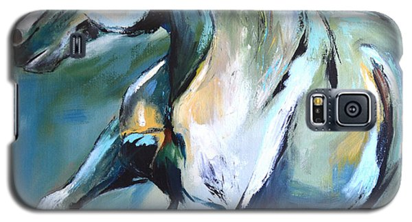 Pale Horse Galaxy S5 Case by Cher Devereaux