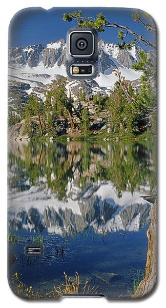2m6443-v-palisade Peaks And Summit Lake V Galaxy S5 Case