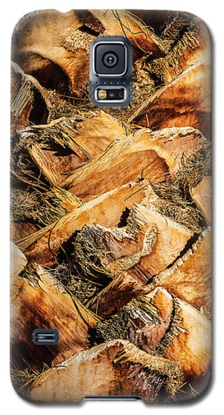 Palm Bark Galaxy S5 Case by  Onyonet  Photo Studios