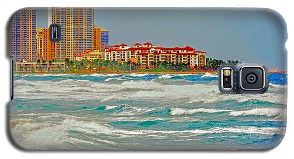 Palm Beach Post Card Galaxy S5 Case