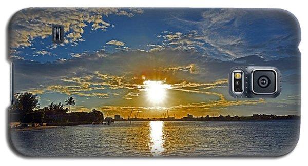Palm Beach Sundown Galaxy S5 Case