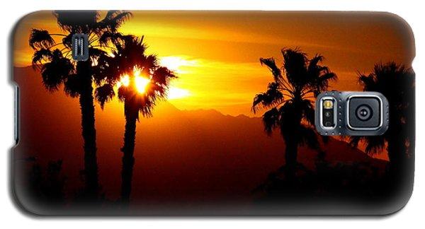Palm Desert Sunset Galaxy S5 Case