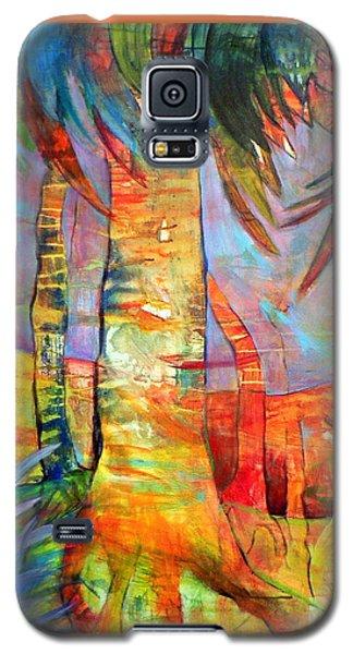 Palm Jungle Galaxy S5 Case by Elizabeth Fontaine-Barr