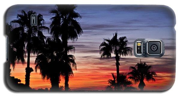 Palm Shadows Galaxy S5 Case by Deborah Klubertanz