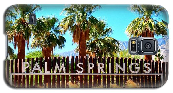 Palm Springs 1 Galaxy S5 Case