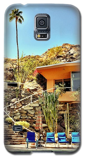 Palm Springs Pool Galaxy S5 Case by Julie Gebhardt