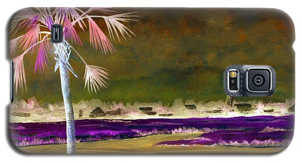 Palm Tree 0n Causeway Galaxy S5 Case