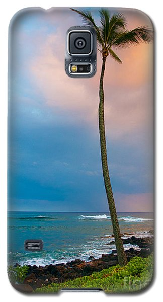Palm Tree At Sunset. Galaxy S5 Case
