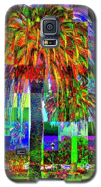 Galaxy S5 Case featuring the photograph Palm Tree by Jodie Marie Anne Richardson Traugott          aka jm-ART