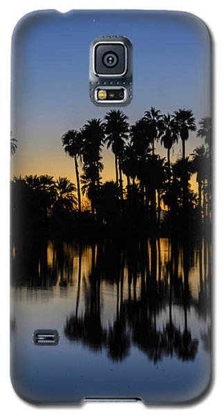 Palm Tree Reflection Galaxy S5 Case