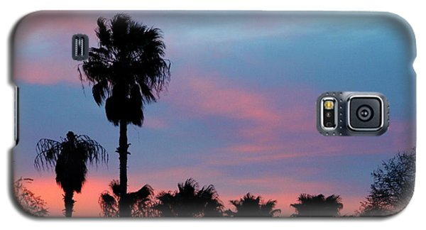 Palm Tree Sunset Galaxy S5 Case