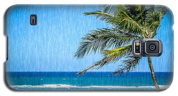 Palm Tree Swaying Galaxy S5 Case