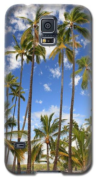 Galaxy S5 Case featuring the photograph Palm Trees At Pu'uhonua O Honaunau Nhp by Scott Rackers