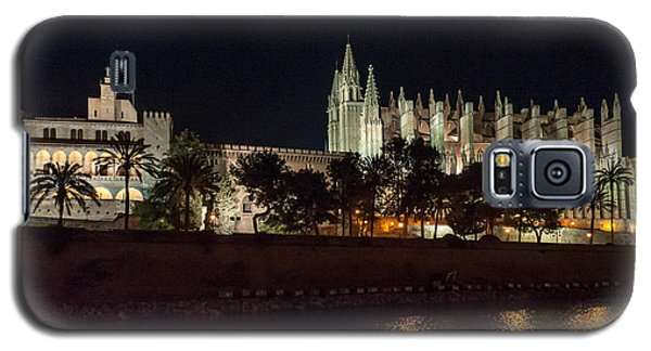 Palma Cathedral Mallorca At Night Galaxy S5 Case