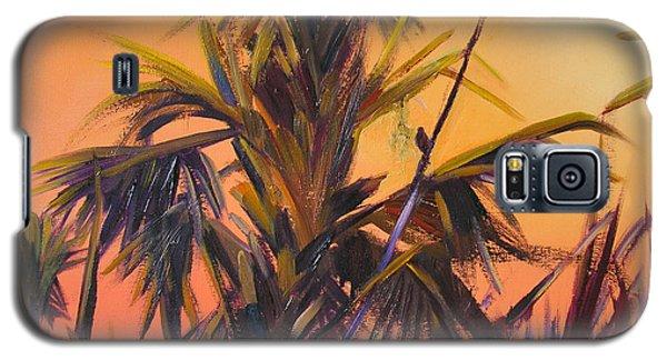 Palmettos At Dusk Galaxy S5 Case