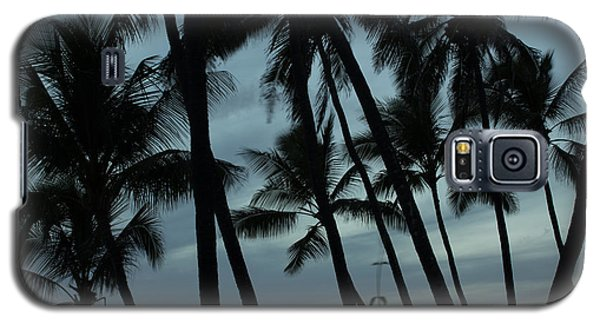 Palms At Dusk Galaxy S5 Case by Suzanne Luft