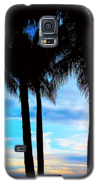 Galaxy S5 Case featuring the photograph Palms by Kara  Stewart