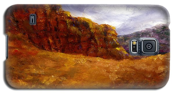 Palo Duro Canyon Texas Hand Painted Art Galaxy S5 Case