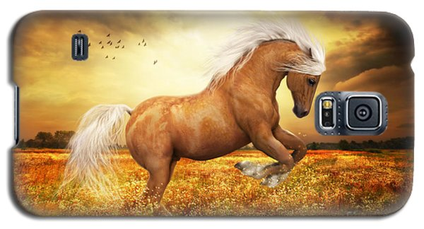 Palomino Horse Sundance  Galaxy S5 Case by Shanina Conway