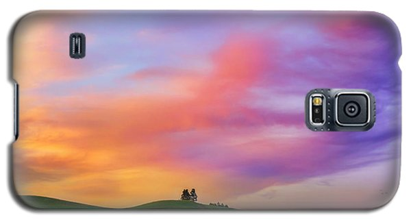 Palouse Cirrus Rainbow Galaxy S5 Case by Ryan Manuel