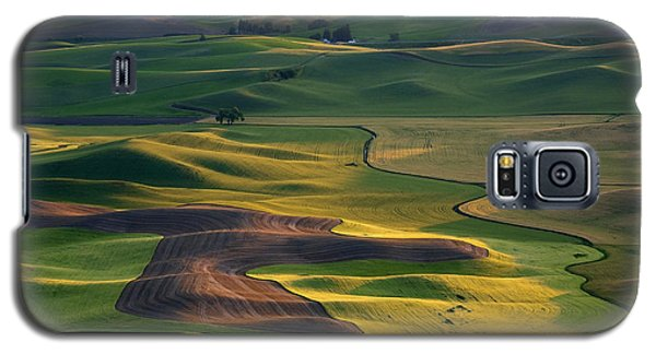 Palouse Shadows Galaxy S5 Case by Mike  Dawson