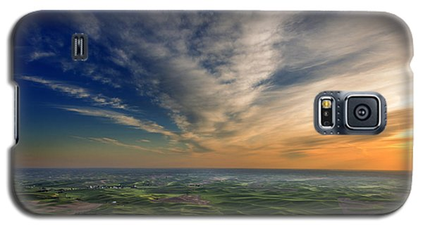 Palouse Sunset Galaxy S5 Case