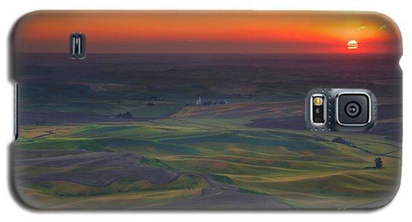 Palouse Sunset Galaxy S5 Case