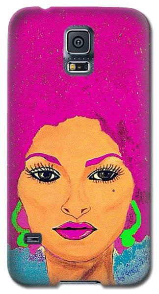 Pam Grier Bold Diva C1979 Pop Art Galaxy S5 Case