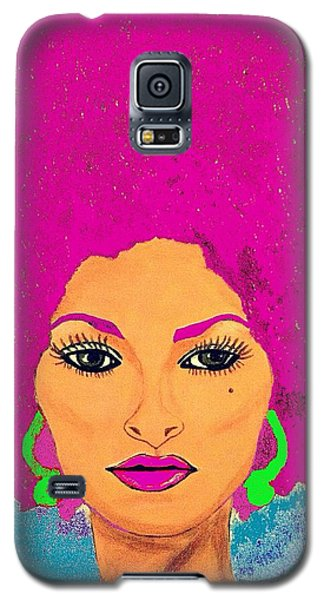 Pam Grier Bold Diva C1979 Pop Art Galaxy S5 Case