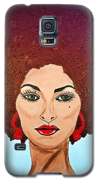 Pam Grier C1970 The Original Diva Galaxy S5 Case