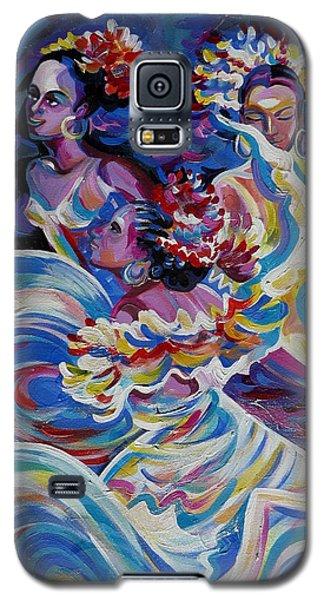 Panama Carnival. Folk Dancers Galaxy S5 Case