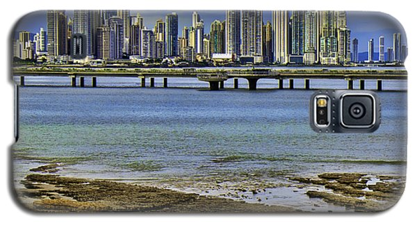 Galaxy S5 Case featuring the photograph Panama City by Rob Tullis