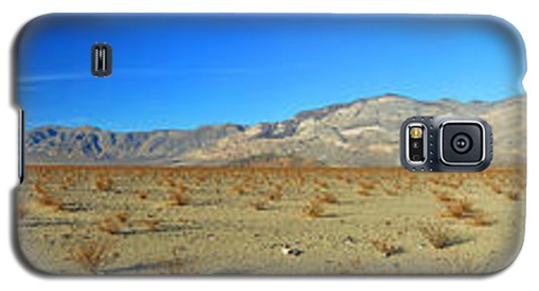 Panamint Valley State Route 190 Panorama November 16 2014 Galaxy S5 Case