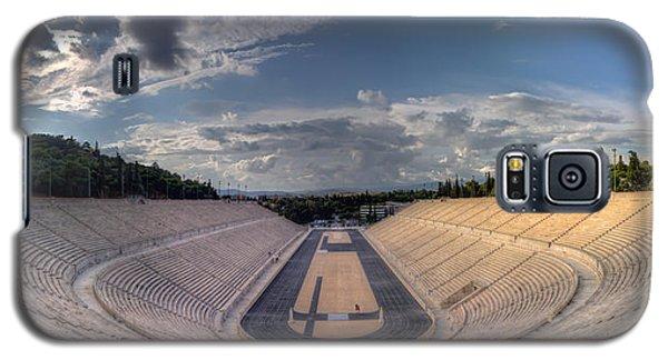 Galaxy S5 Case featuring the photograph Panathenaic Stadium by Micah Goff