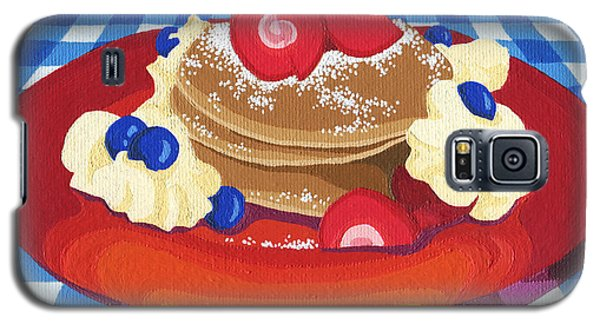 Pancakes Week 10 Galaxy S5 Case by Meg Shearer